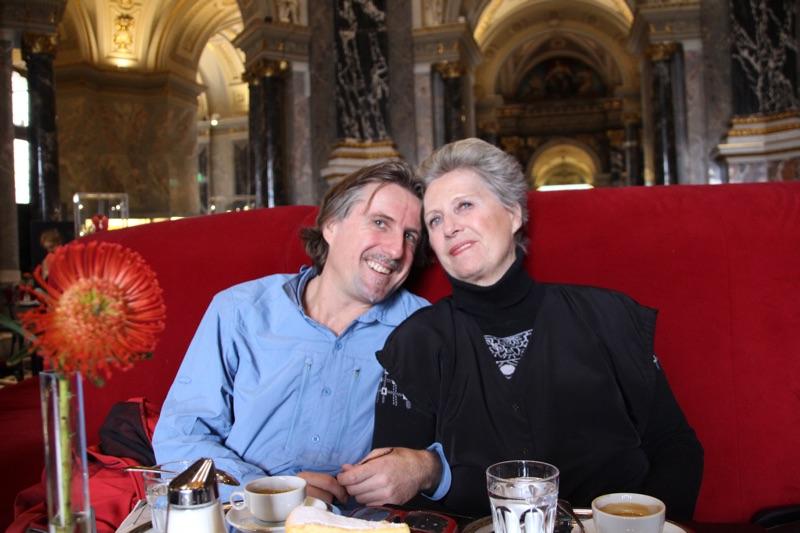 Christian with his Mum Edda