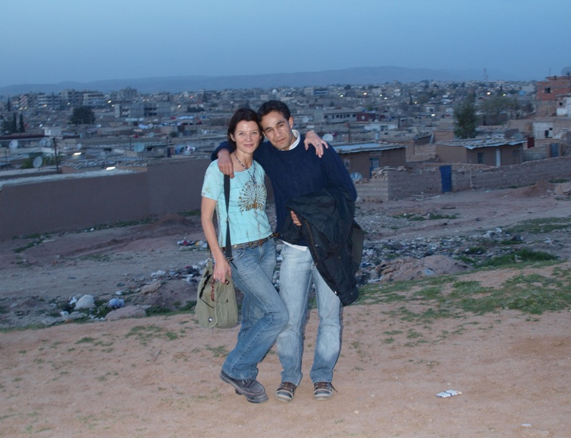 With Faner in Kurdistan North Eastern Syria
